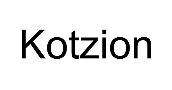 Kotzion